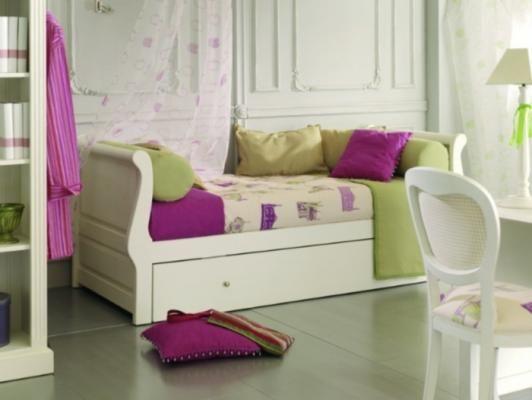 Cama nido modelo barco blanco lacado disponible en varios - Decoracion camas nido ...