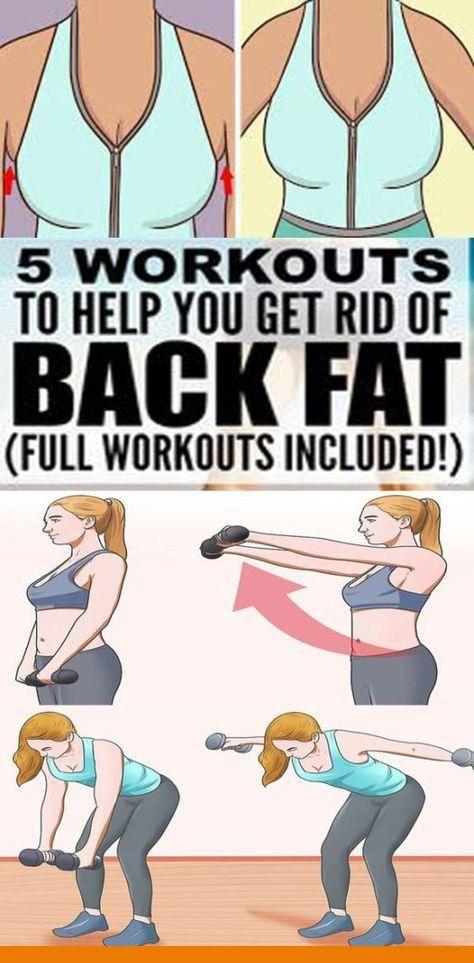 "Burn ""Bra Line"" Fat & These Amazing 5 Exercises!!!  #lifehacks  #fitness"