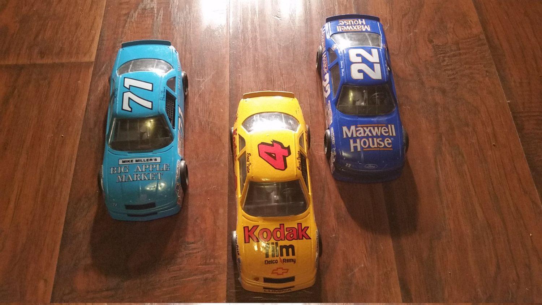 1991 NASCAR Bundle Bargain 3 Die Cast Dave Marcis Sterling