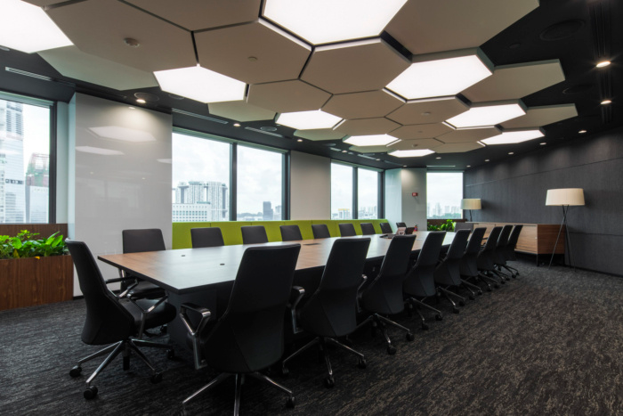 Office Tour Manulife Offices Singapore Design Office Design