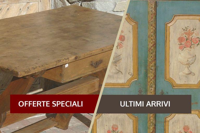 Arredamento Tirolese ~ I nostri prodotti cassepanche armadi credenze antichità evelina