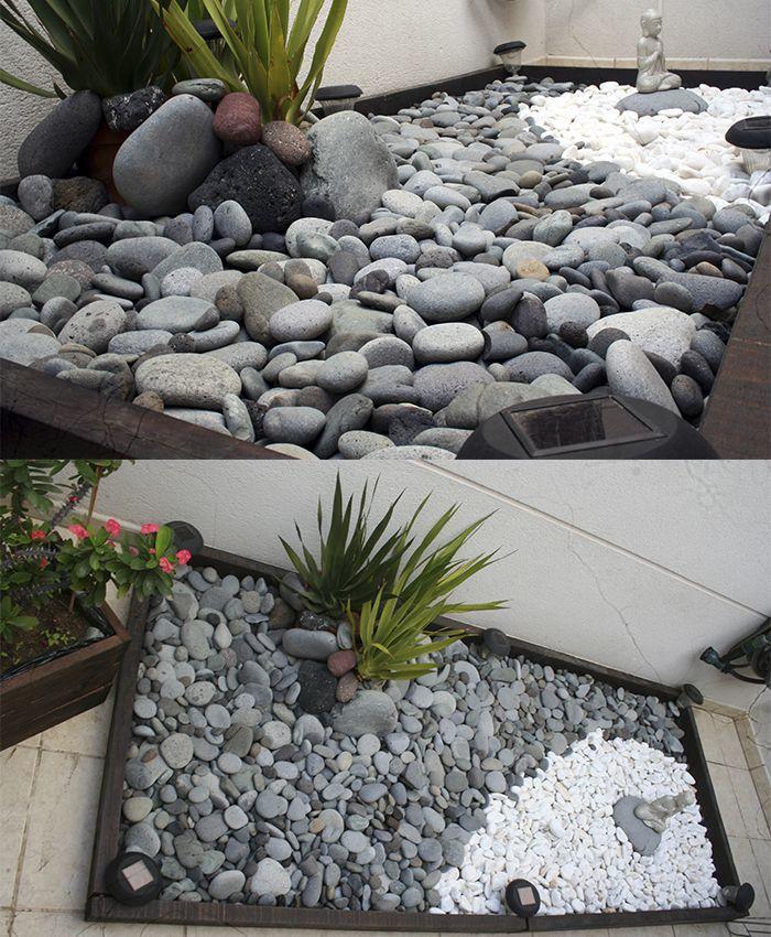 Pinterest jardines con piedras buscar con google for Jardines de piedras blancas