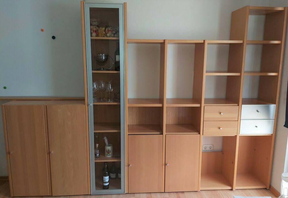 Hulsta Now Nr 1 Serie System Regalwand 300 X 210 Cm Buche
