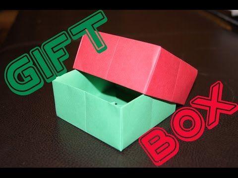 Easy Origami Box Tutorial 簡單摺紙盒子教學 Caja de papel fácil ... | 360x480