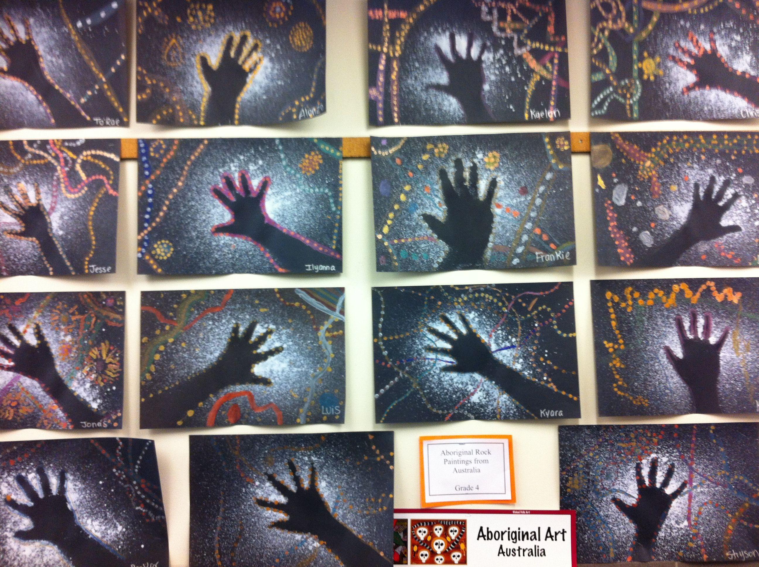 Aboriginal Rock Art Multicultural Projects Aboriginal Art For
