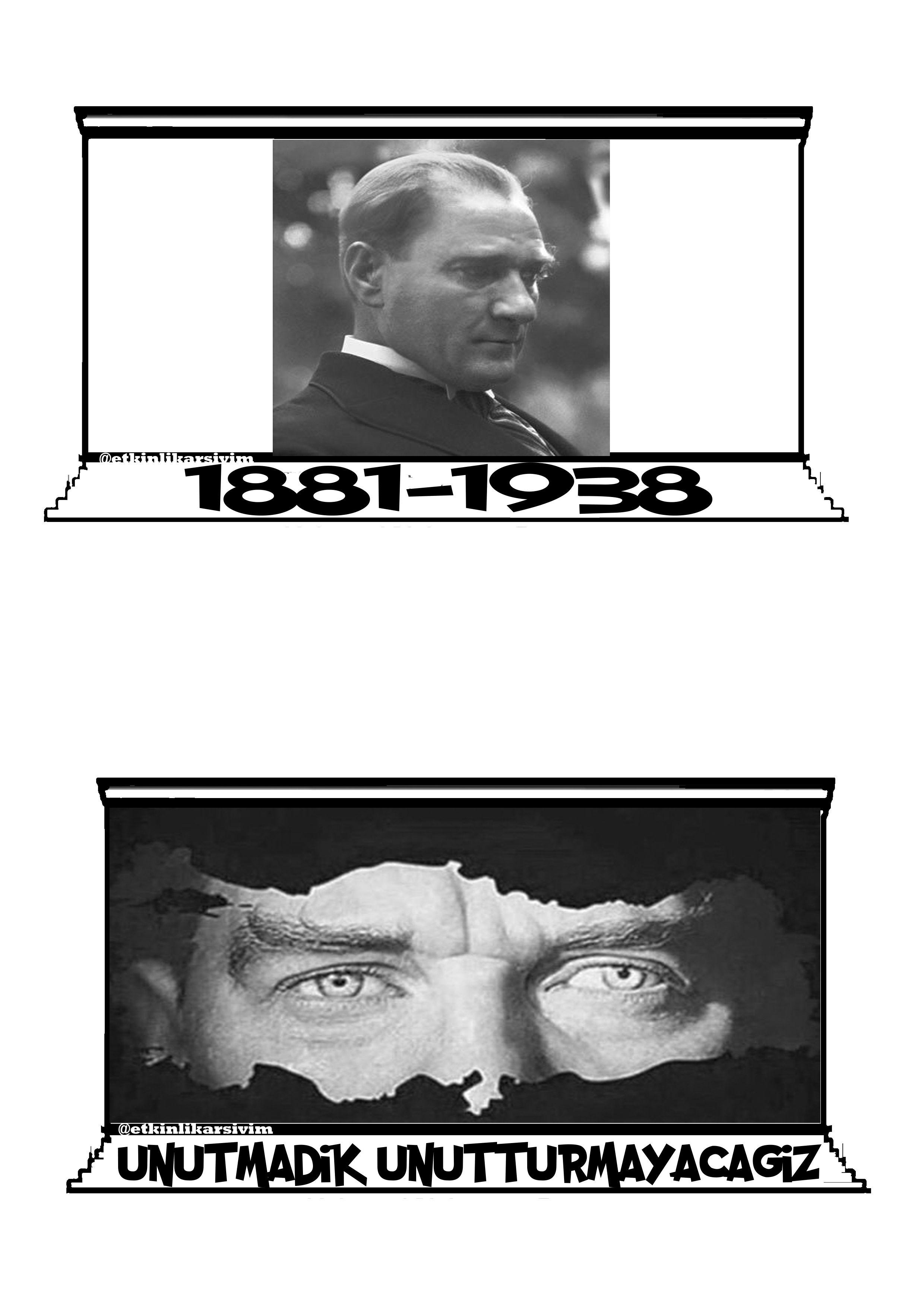 Ayse Kuru Adli Kullanicinin Ataturk Albumu Panosundaki Pin Faaliyetler Boyama Sayfalari Ve Okul