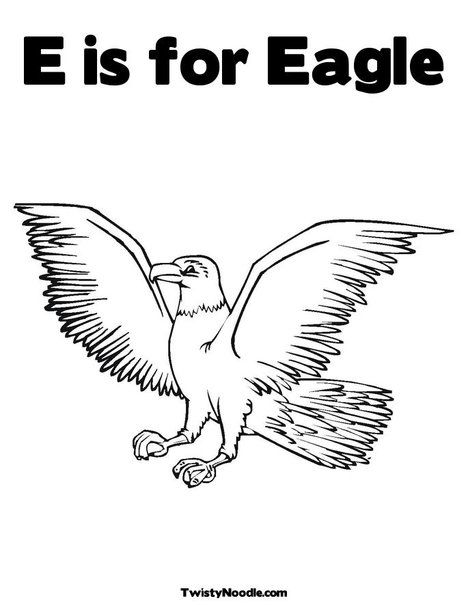 E is for Eagle | Birds: Eagles for Preschool | Animal ...