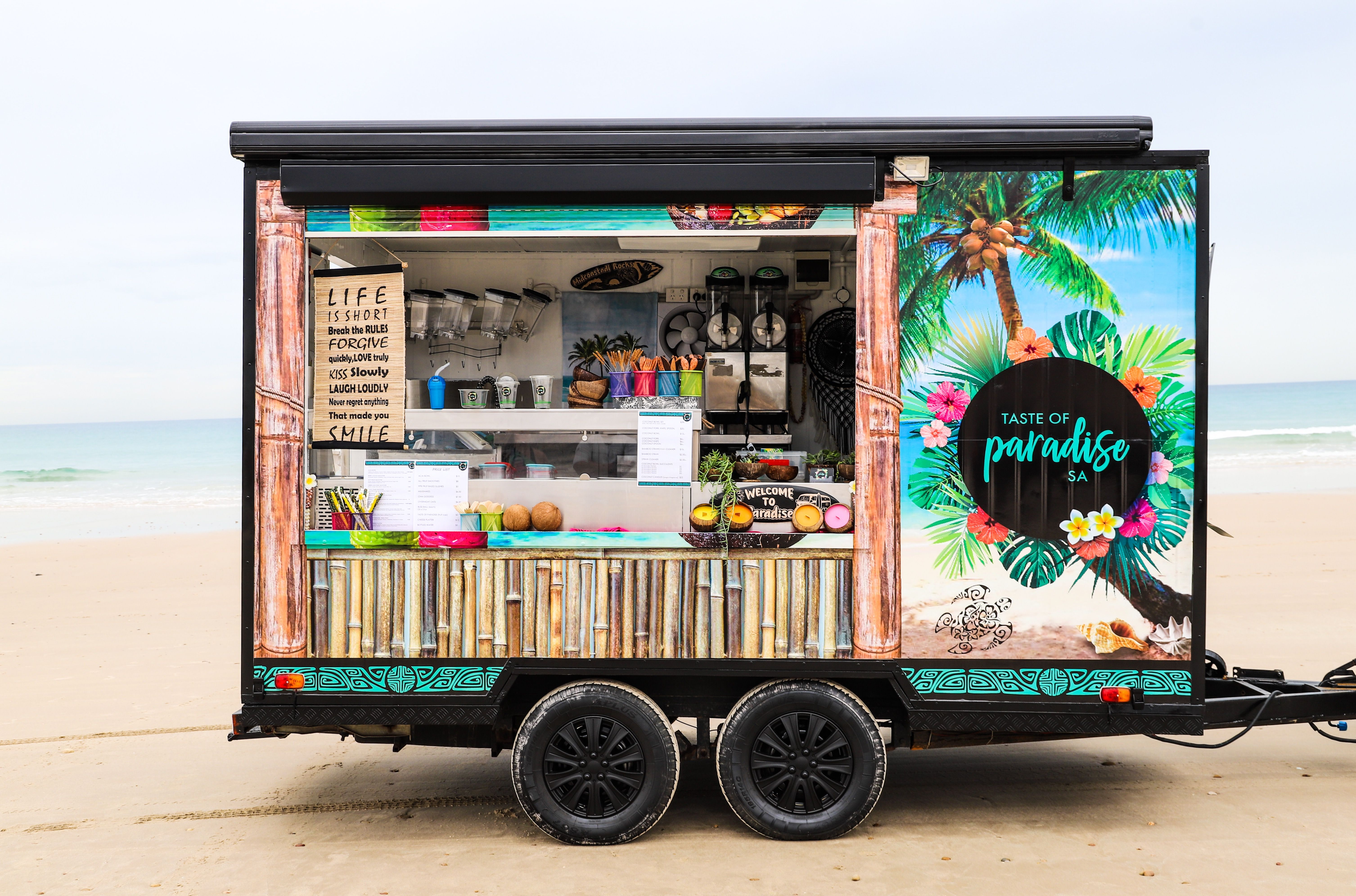 Check out my sisters mobile food van healthy
