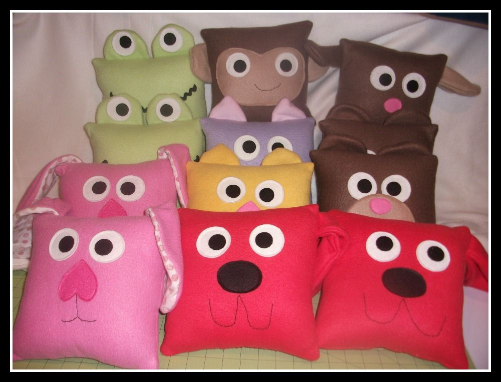 More pillows for Sacred Heart Children's Hospital.  Visit my blog for more info - sewingmilesofsmiles.blogspot.com