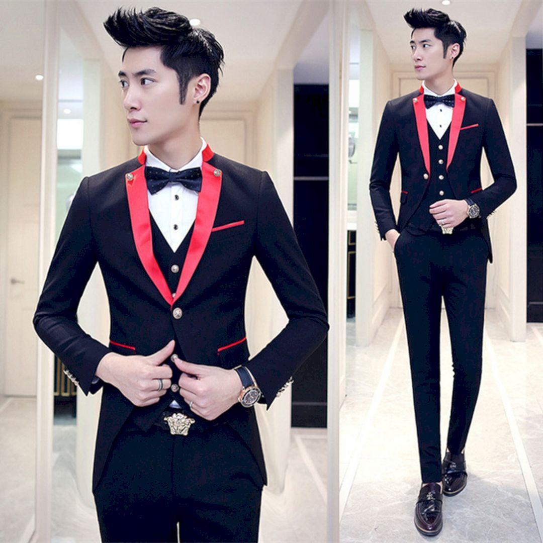 Adorable 25 Marvelous Red Black And White Wedding Tuxedo Ideas Https Oosile 15791