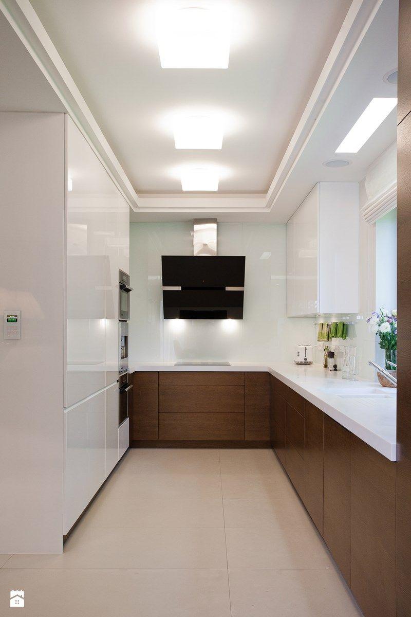 Dom W Krakowie Realizacja Du A Otwarta W Ska Kuchnia W  # Muebles New Style Villa Tesei
