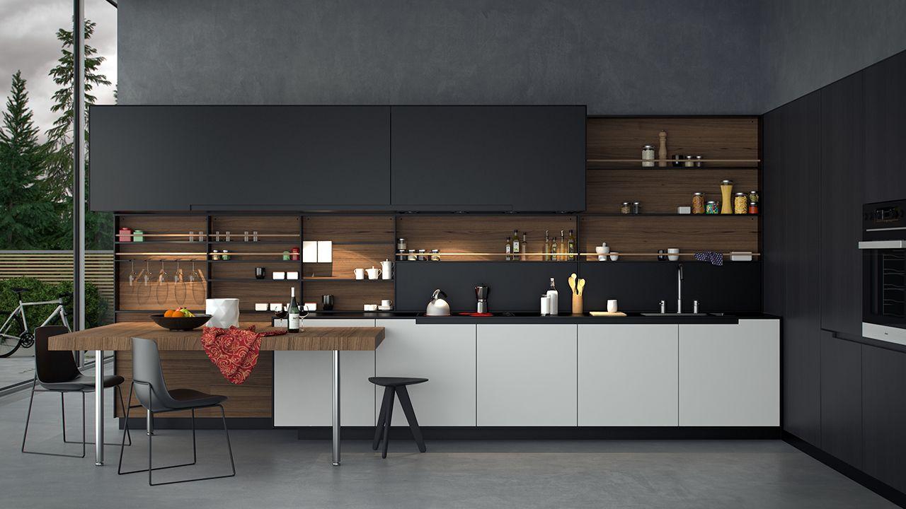 Fitted Kitchens Kitchen Systems Pheonix Varenna Poliform - Varenna cuisine