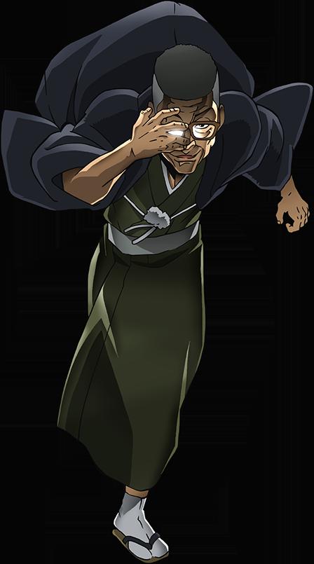 キャラクター:渋川剛気 バキ, アニメ, 勇次郎