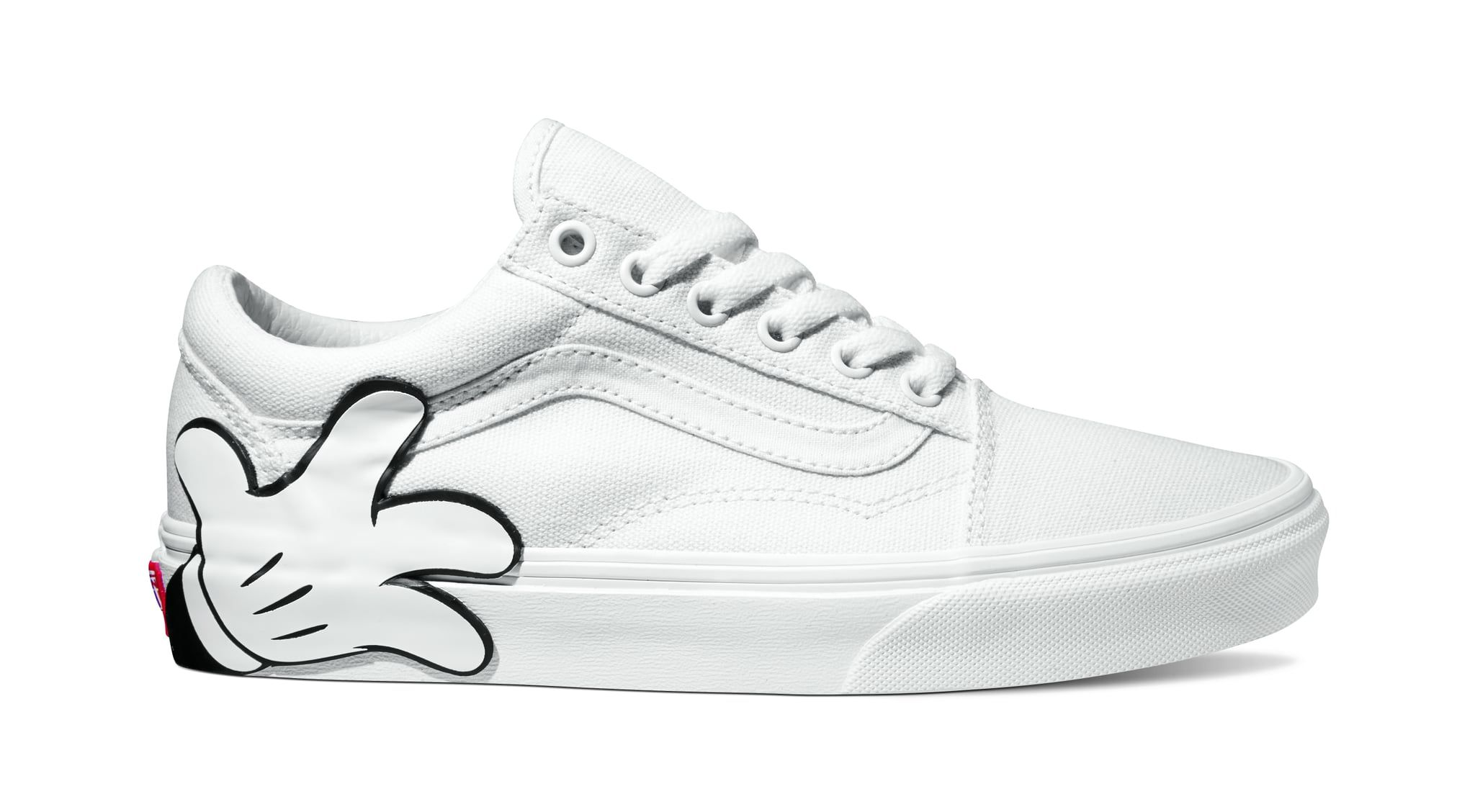 5af2450c0d9 ... Old Skool in Mickey Mouse True White. Vans and Disney Teamed Up For a  Sneaker Collection So Magical