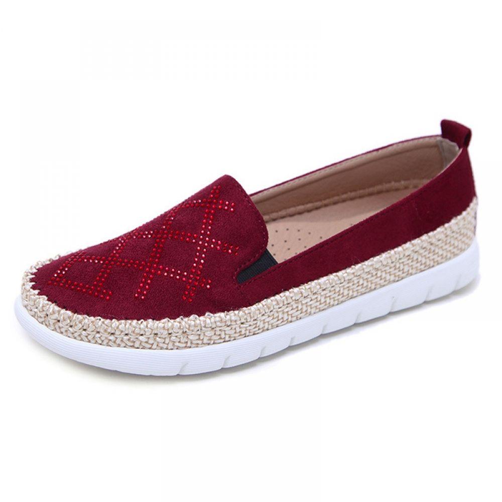88fd1ab97a92 Fashion Bling Bling Women Shoes-Causal Soft Woman Flat shoe. FREE Shipping  Worldwide