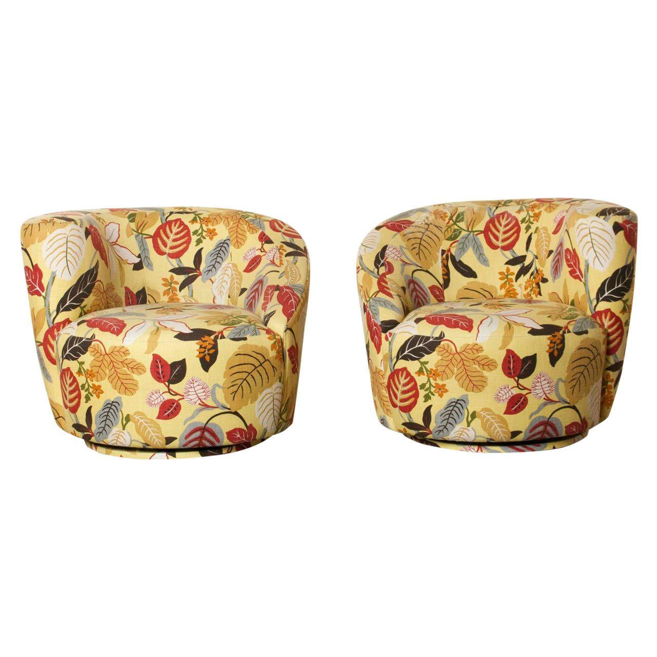 Nautilus Chairs By Vladimir Kagan
