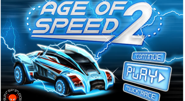 Try this futuristic race while you are tackling loop the ...