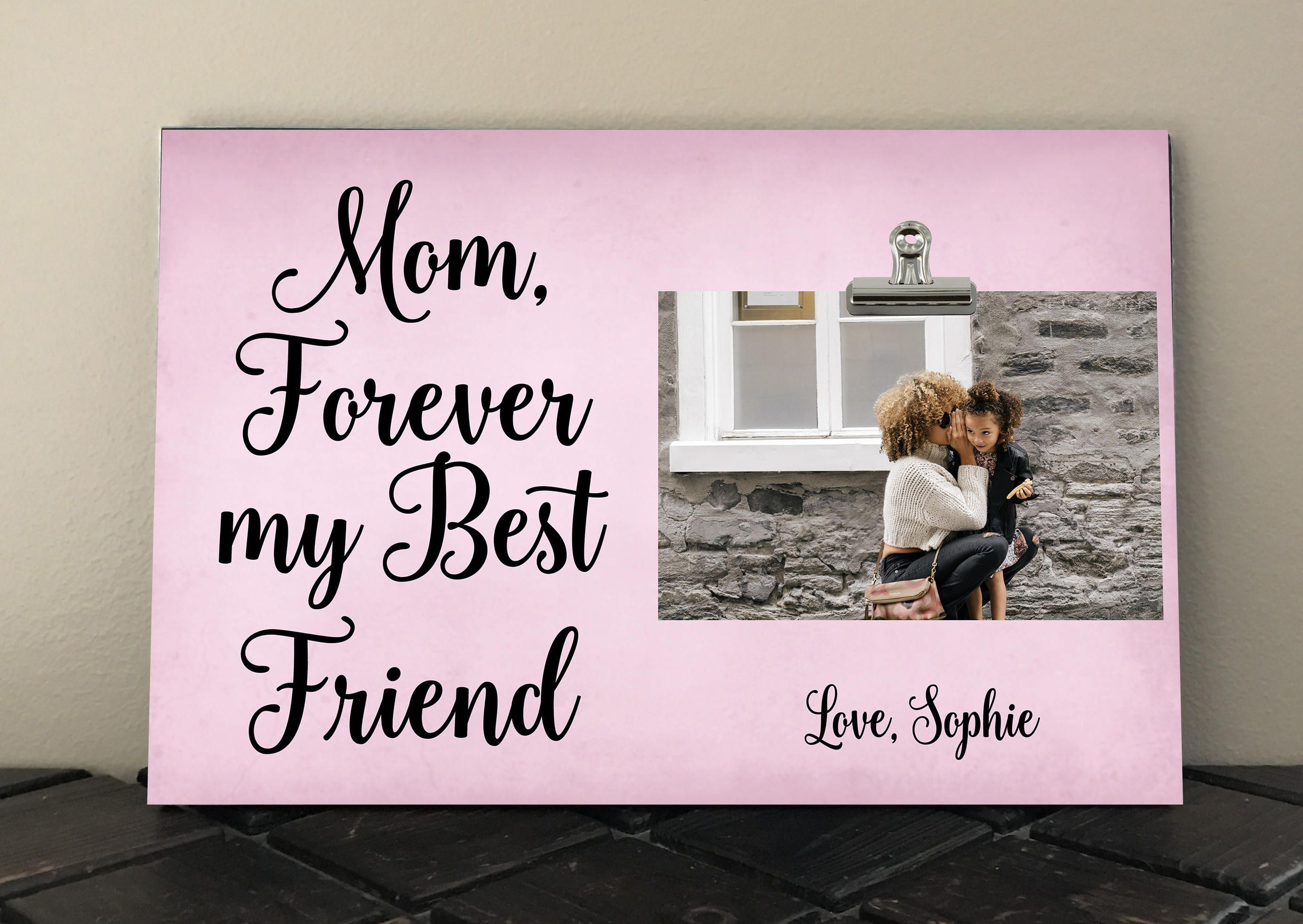 Bride to Mother Gift, MOM Forever my BEST FRIEND, Free Design Proof ...
