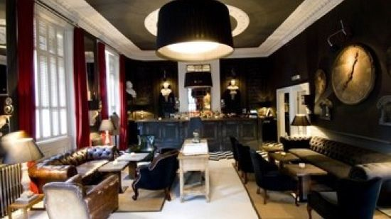Med Style Menu With A Martini In Hand At This Long Established Lounge Bar And Restaurant Owned By The Soho House Group Electric