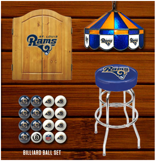 on sale 652a8 394b0 The best place to get all your St. Louis Rams Man Cave needs ...