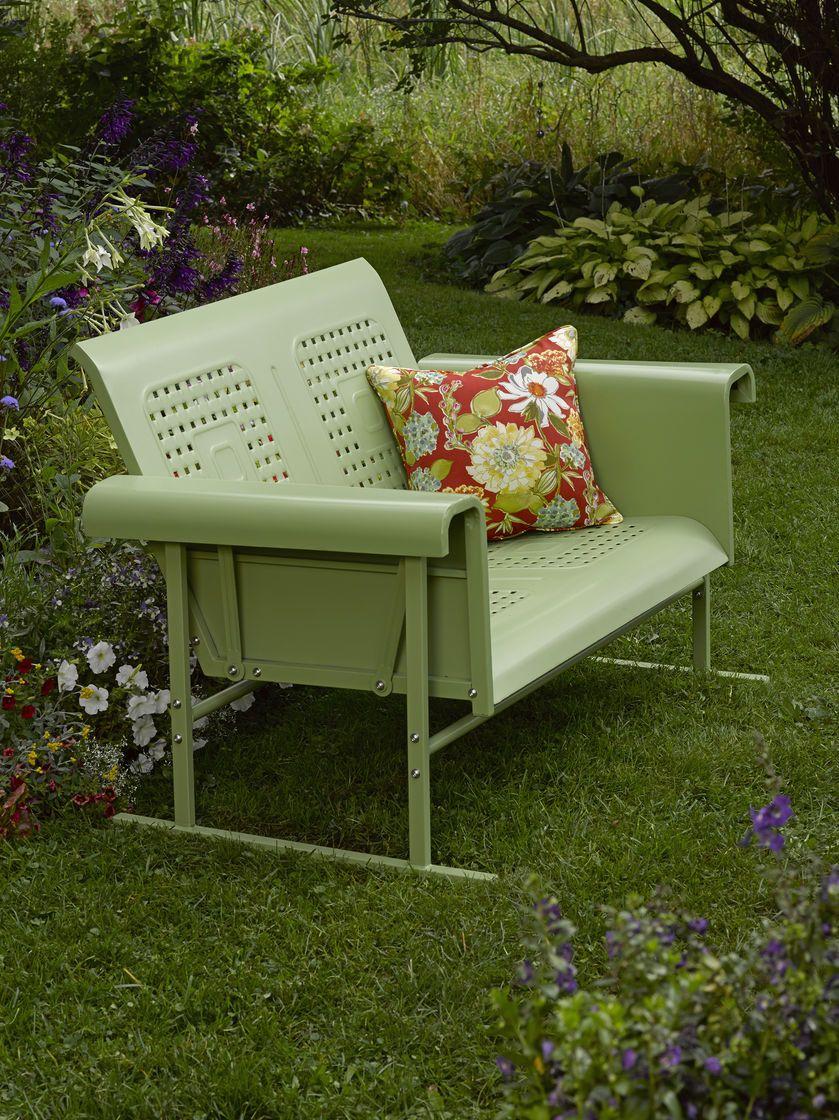 Loveseat Glider: Veranda Glider Loveseat | Gardeners.com | Raised ...