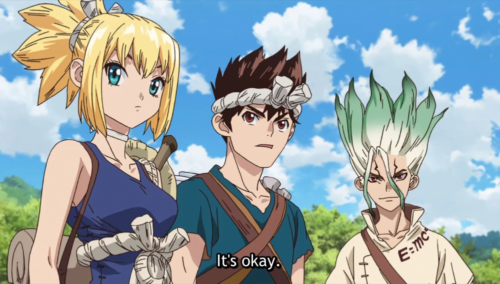Dr. Stone Episode 12 Chasing the Green Fairy I drink
