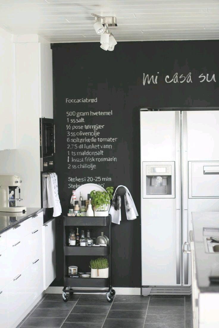Pinla Feliz Idea ^_^ On Ideas For Home  Pinterest  Kitchen Mesmerizing Kitchen Blackboard Review