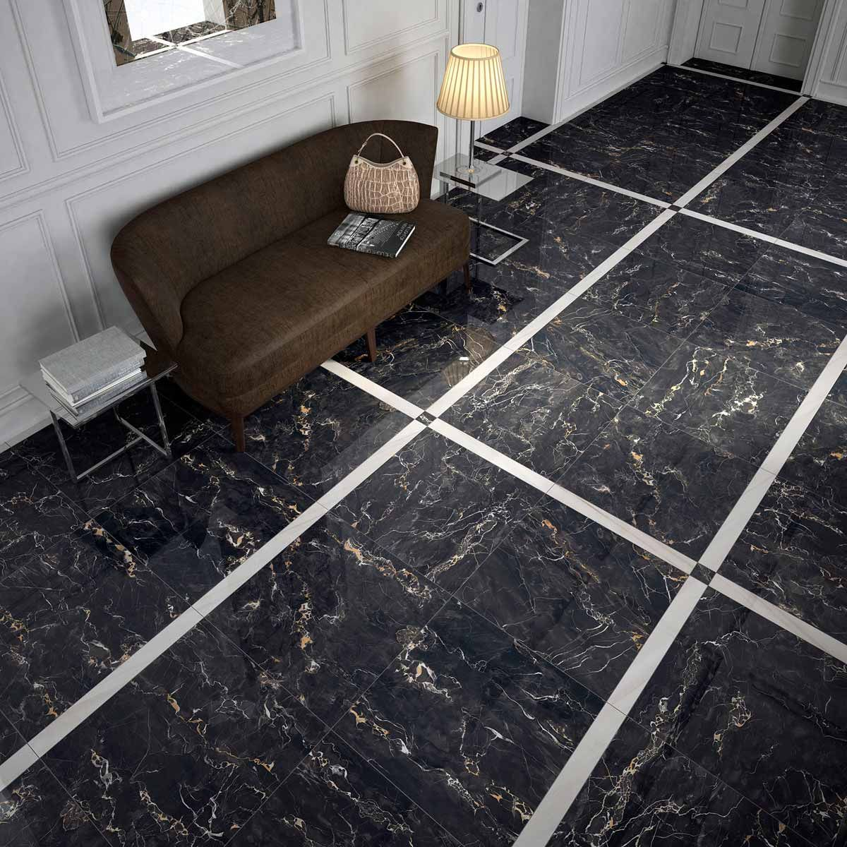 Mirage jewels encore black gold marble look polished porcelain mirage jewels encore black gold marble look polished porcelain tiles available at ceramo dailygadgetfo Gallery