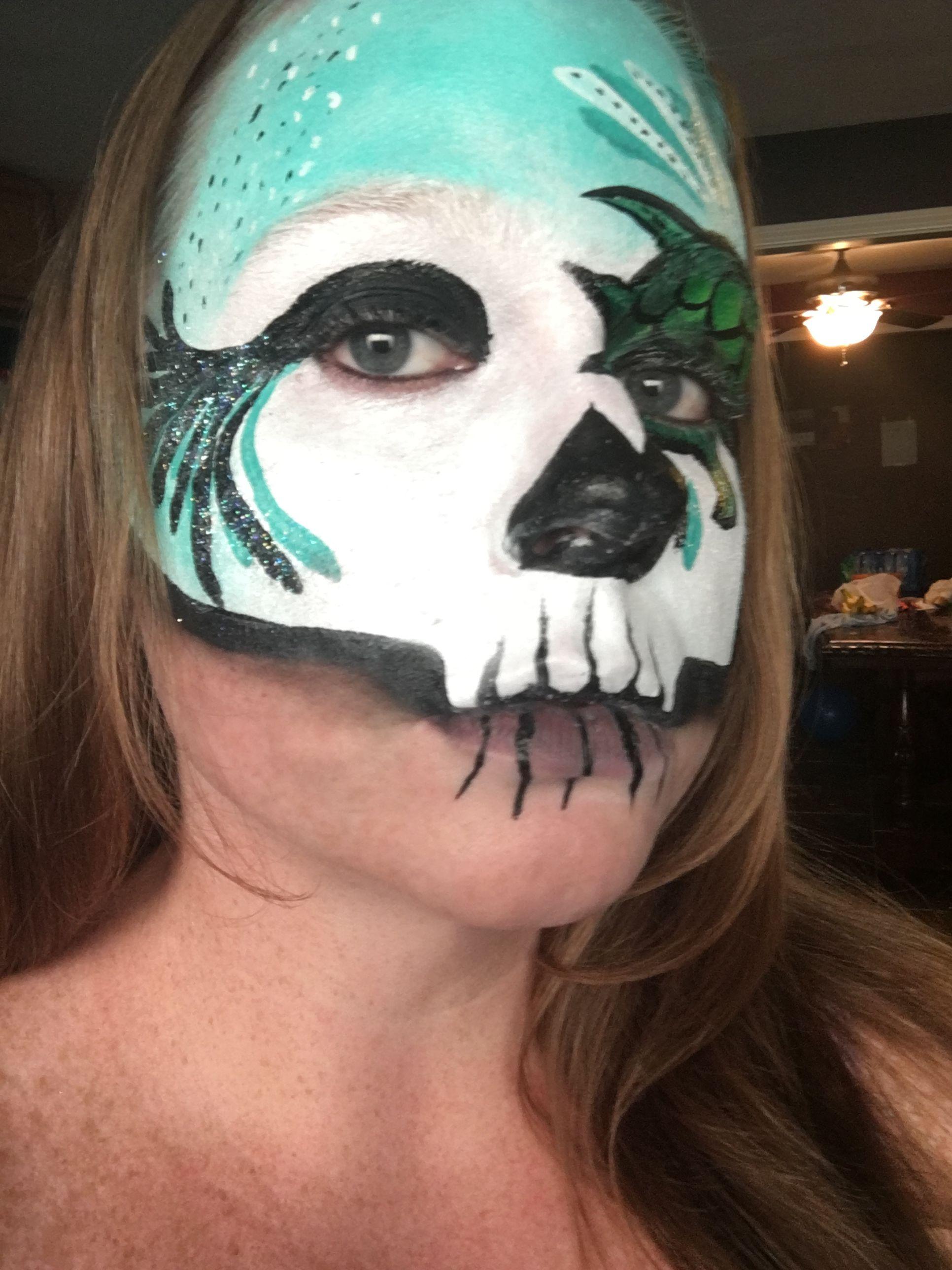 Turtle Sugar Skull