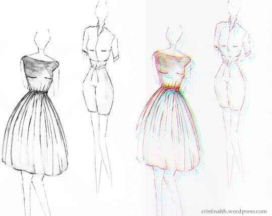 Sketches Fashion Sketches Art Dress Fashion Design Sketches