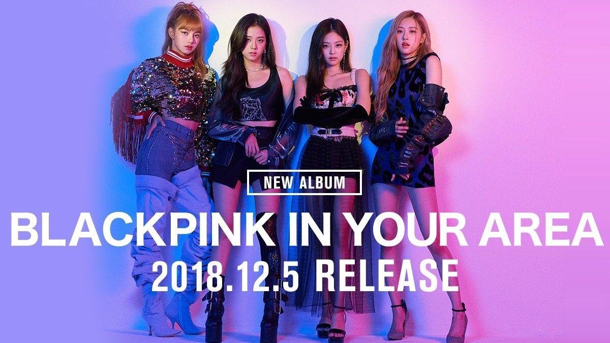 blackpink blackpink in your area new album japan blackpink album covers album