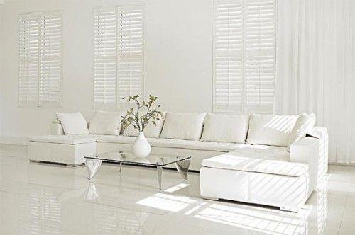 All White Interior Design corner sofa, white, light. white modular sofa for living room