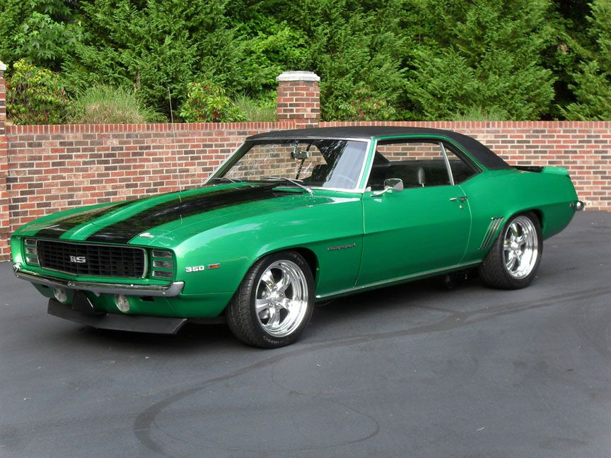 1969 Chevrolet Camaro Coupe Rs Rally Sport With Polished