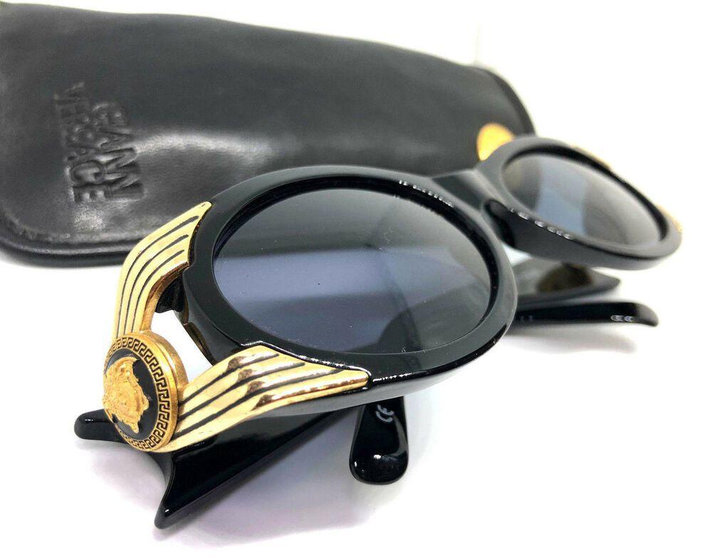 2916536e1256 Gianni Versace Mod.423 Col.852 Vintage Sunglasses   Eyeglasses With Case  MIGOS  affilink  vintagesunglasses  vintage