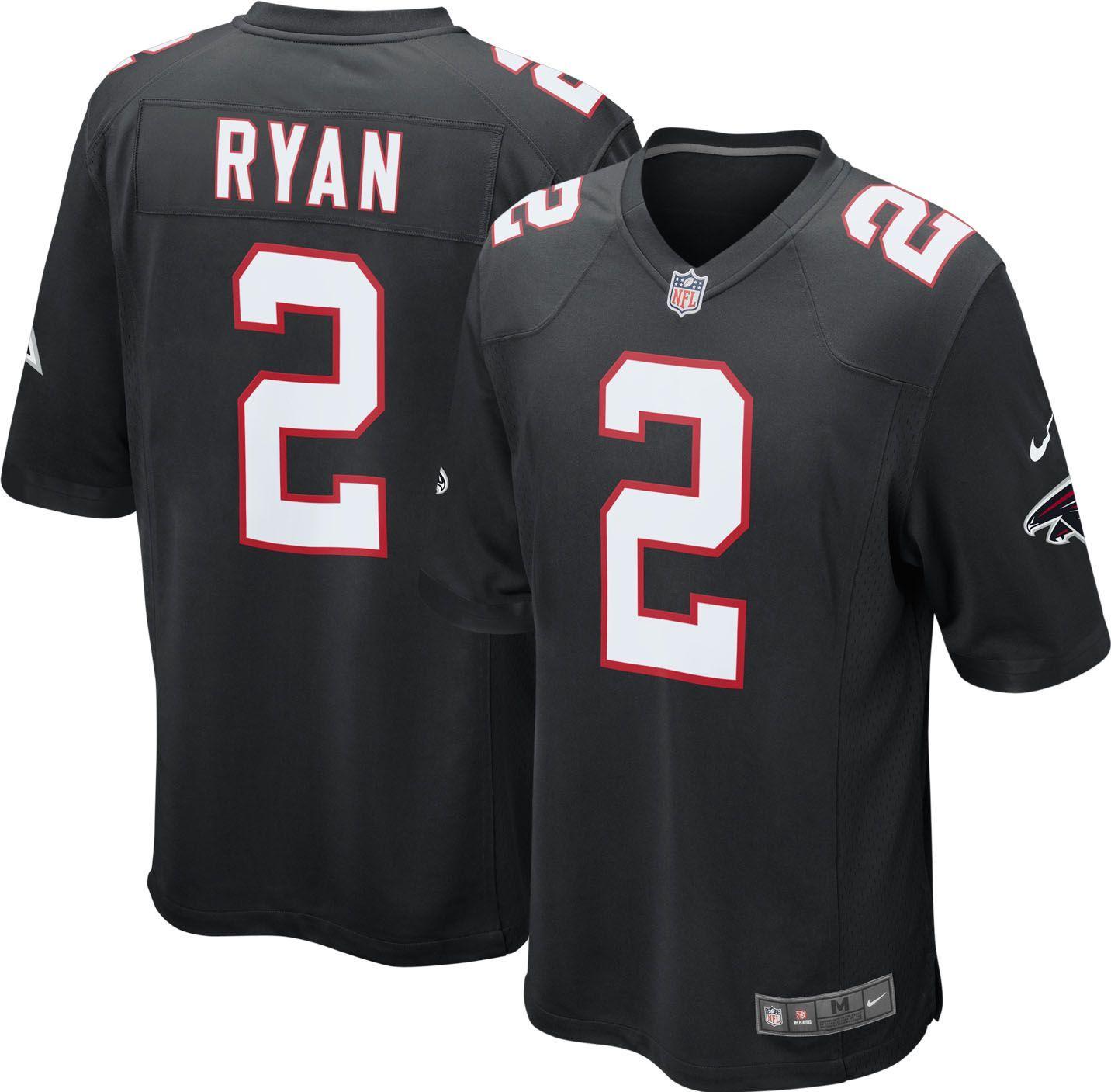 Nike Men s Alternate Game Jersey Atlanta Falcons Matt Ryan  2 ... 9493e29fe