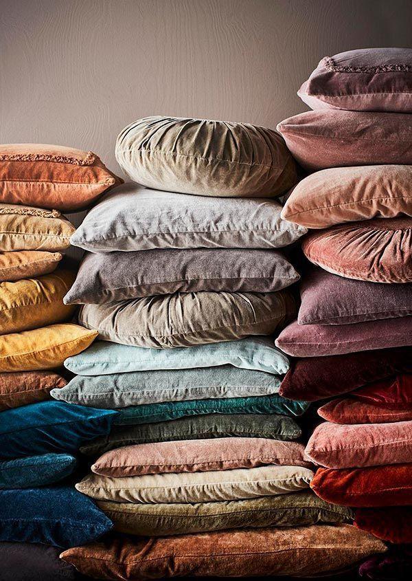 Fluweel, de mooiste kleuren