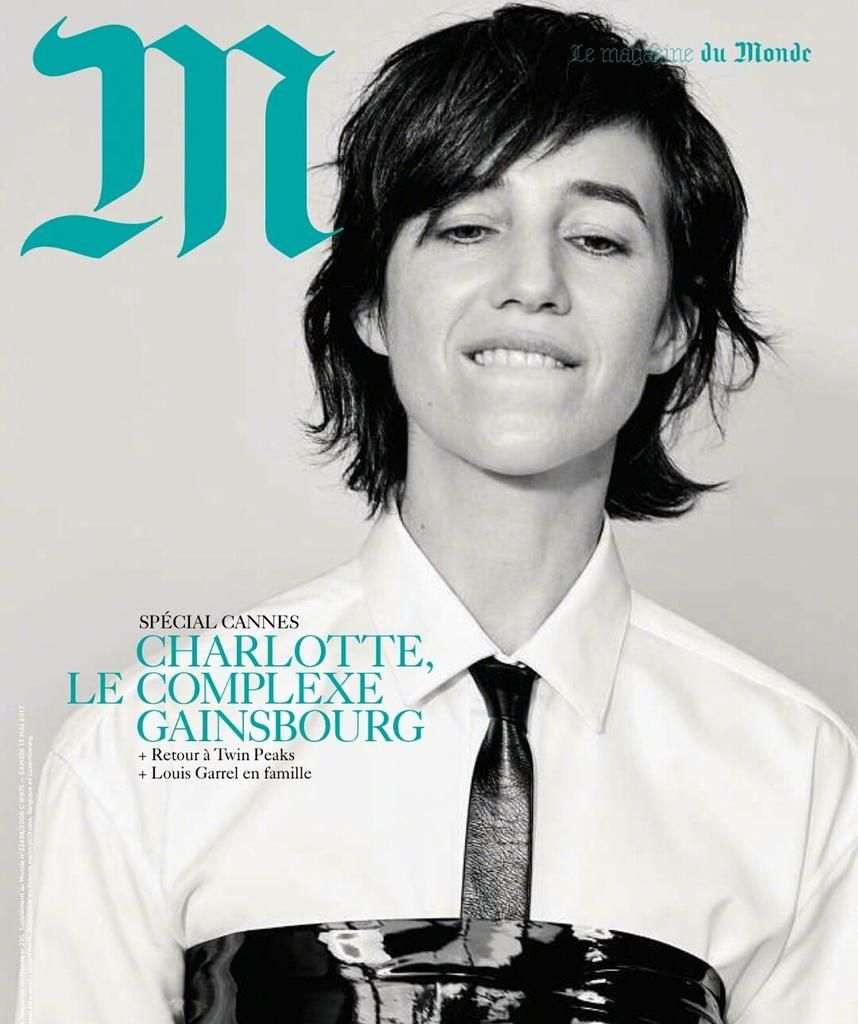 Charlotte Gainsbourg for M Magazine - Cannes 2017 Issue