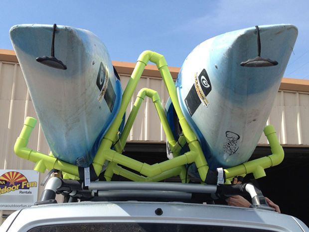 Pvc Kayak Roof Rack Carrier