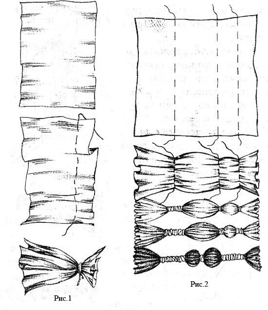 Shibori Dye tech | Dekor på klær | Pinterest | Färben, Batik und Drucke
