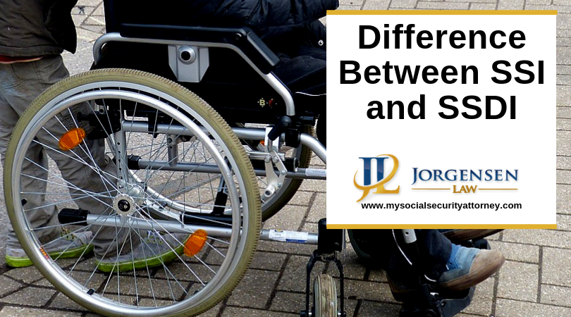 What Is The Difference Between Ssi And Ssdi Disability Insurance