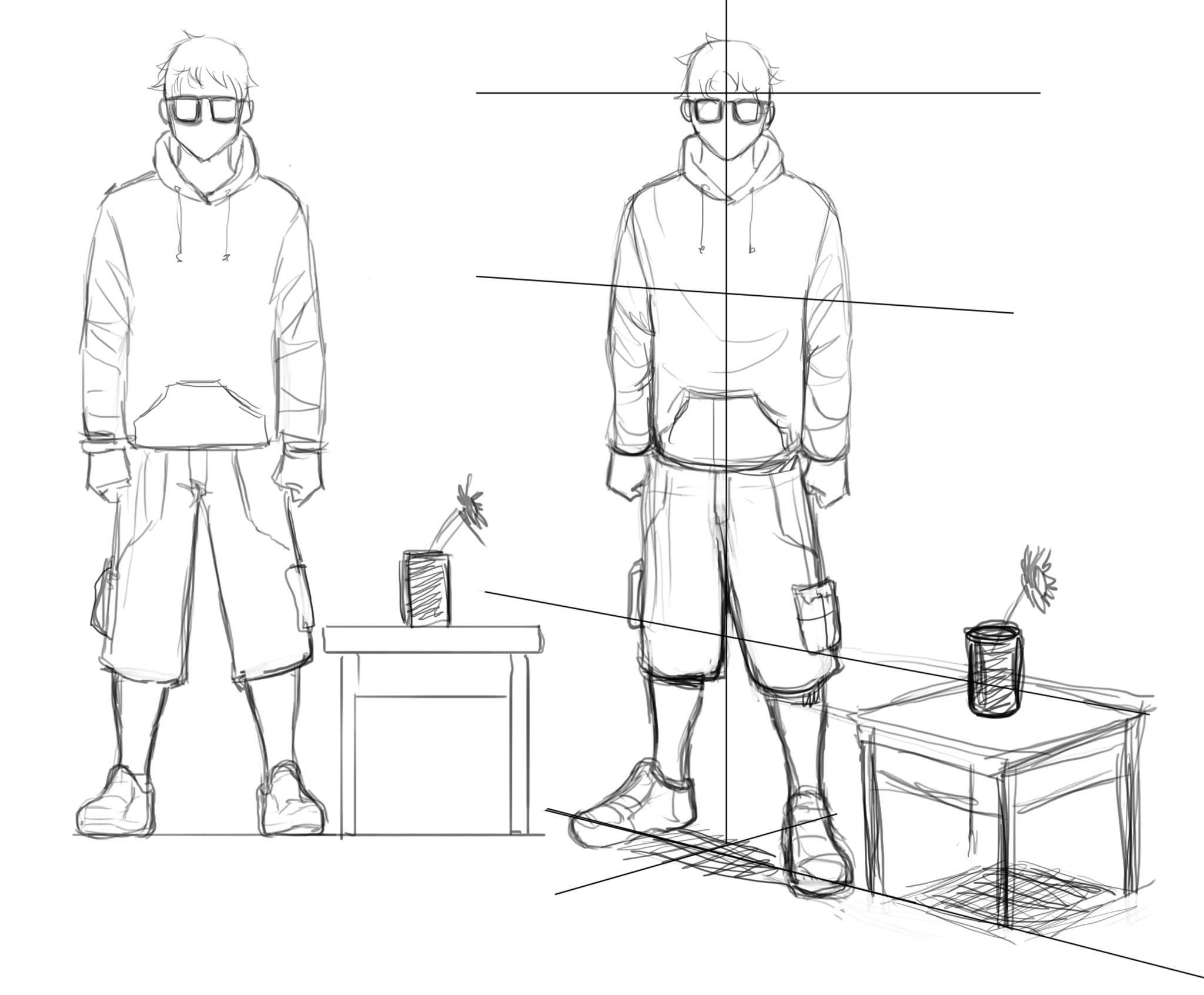Dibujando En Perspectiva 3 Volumen Y Profundidad Concurso Manga Como Dibujar En Perspectiva Arte En Perspectiva Dibujo Perspectiva