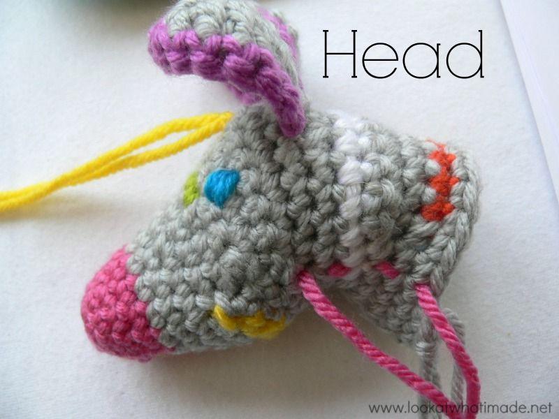 Crochet Zebra Head:http://www.lookatwhatimade.net/free ...