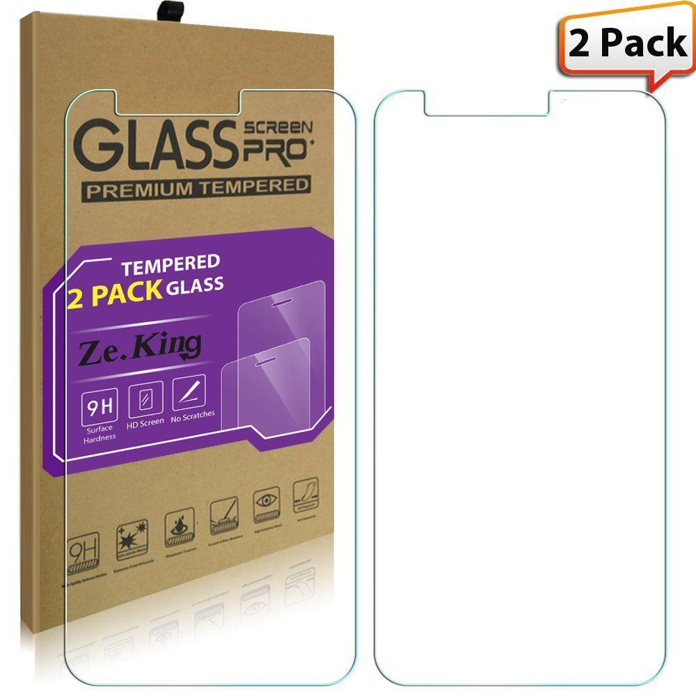 Amazon com: [2-Pack]ZTE Sequoia Tempered Glass, ZTE Z982