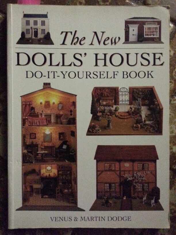 Dolls house do it yourself book miniatures pinterest doll dolls house do it yourself book solutioingenieria Choice Image