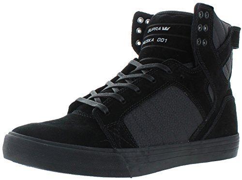 Vaider, Sneakers Hautes Homme, Noir (Black White), 42.5 EUSupra