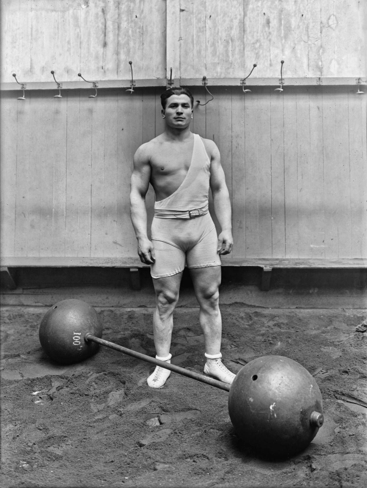 french weightlifter and 1920 olympic champion ernest cadine 1923via