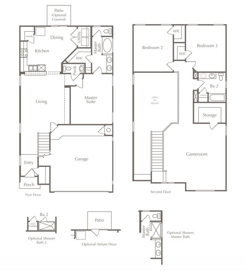 Click to view virtual tours of various floor plans* This is one of