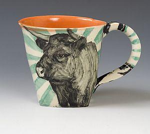 Cow Mug by Hannah Niswonger via Artful Home