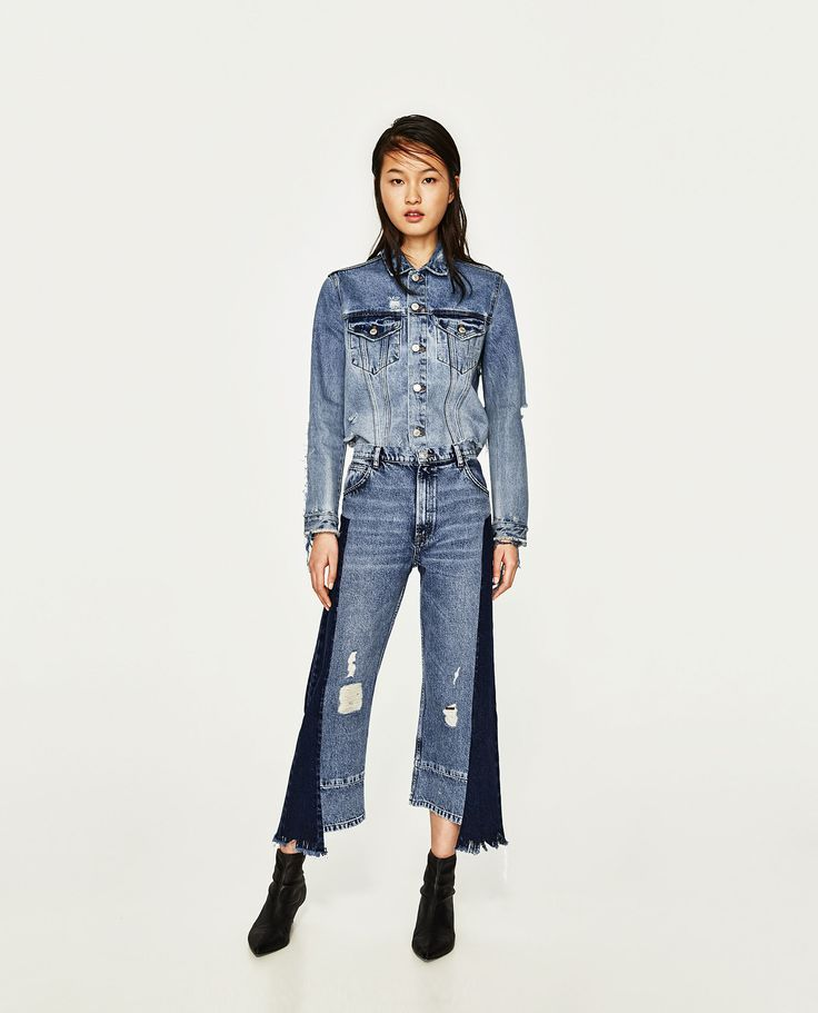 Nice Fashion fashion jeans MID-RISE STRAIGHT FIT JEANS, (2017) Zara, Available at: www.zara.com/... [Access... Check more at https://24myshop.tk/my-desires/fashion-fashion-jeans-mid-rise-straight-fit-jeans-2017-zara-available-at-www-zara-com-access/