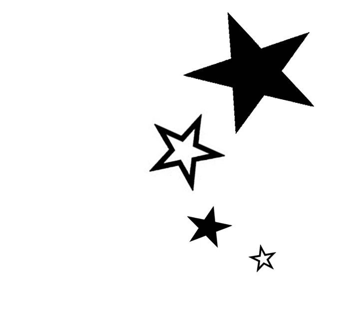 Pin by kayla on i n k e d pinterest star tattoo designs outline and black silhouette star tattoos designs urmus Gallery